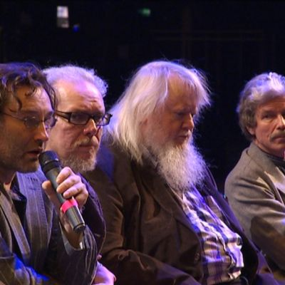 Erik Söderblom, Juha Siltanen, Leif Segerstam ja Mikko Heiniö.