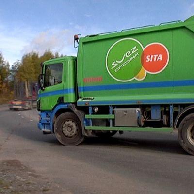Sitan jäteauto