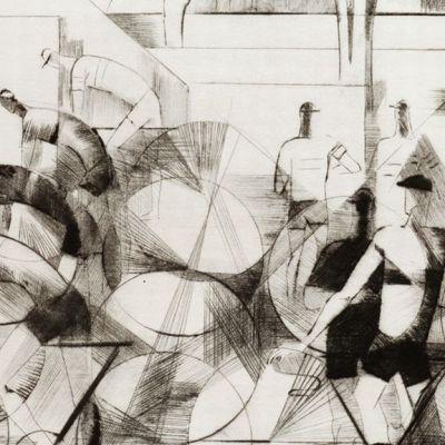 Tuulikki Pietilän teos Tour de France (v.1951).