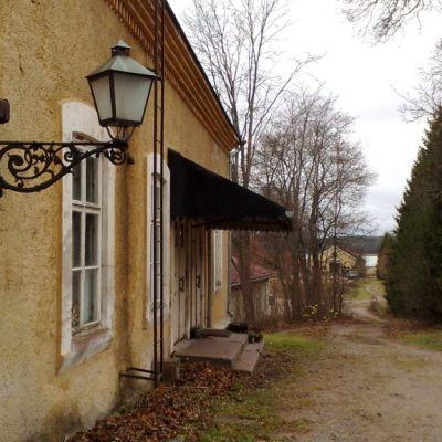 Meijerirakennus Teijon Ruukkialueella (arkistokuva).