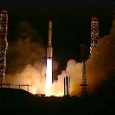 AM4-satelliitin laukaisu 18. elokuuta.