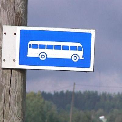 Bussipysäkin merkki