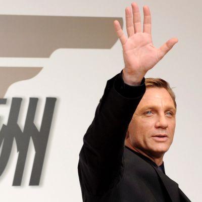 Brittinäyttelijä Daniel Craig marraskuussa 2008.