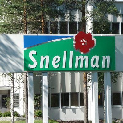 Kuvassa Snellmanin tehdas Pietarsaaressa