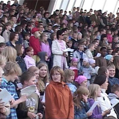 Suomen suven avaus Joensuun Laulurinteellä vuonna 2008.
