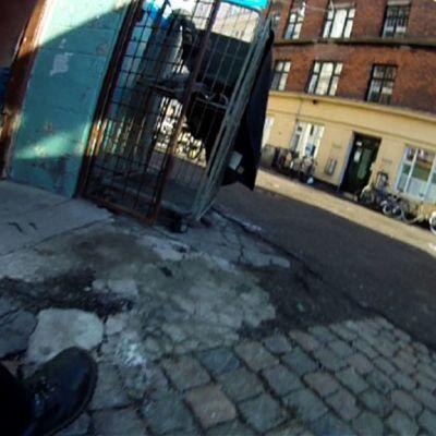 Katunäkymä Kööpenhaminasta