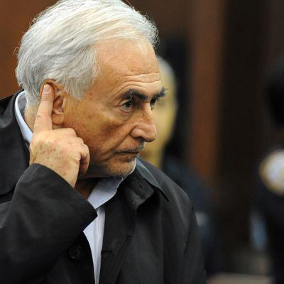 Strauss-Kahn oli kuultavana oikeudessa 16. toukokuuta 2011.