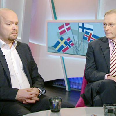 Peter Stadius ja Risto EJ. Penttilä
