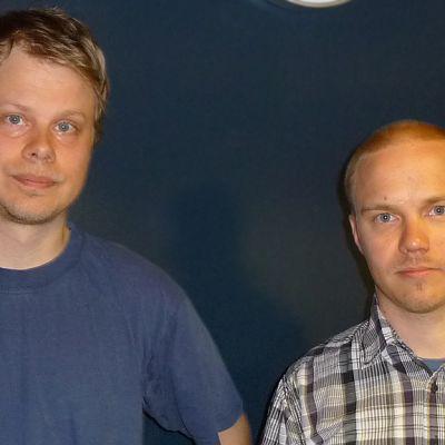Kuvassa Ari-Pekka ja Jarkko Lahti.