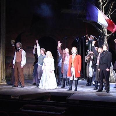 Åbo Svenska Teaterin musikaali Les Misérables.
