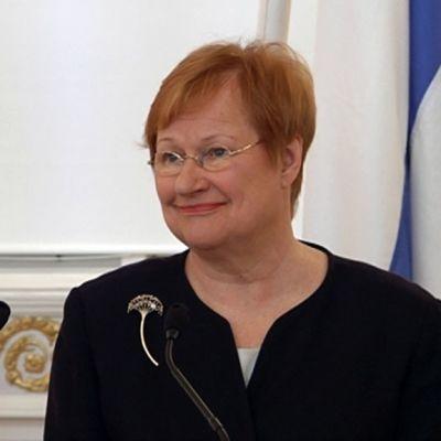 Presidentti Tarja Halonen maaliskuussa 2011.