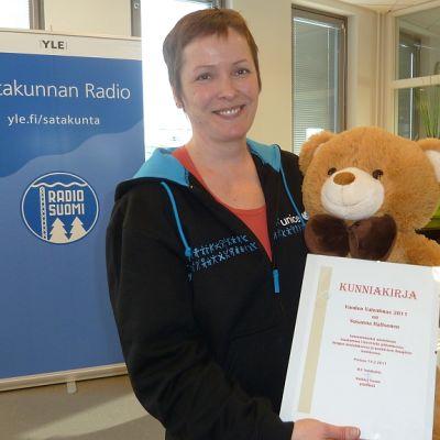 Susanna Haltsonen ja Valentinus-palkinto