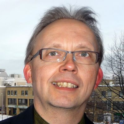 Kuvassa Juhani Lamminmäki