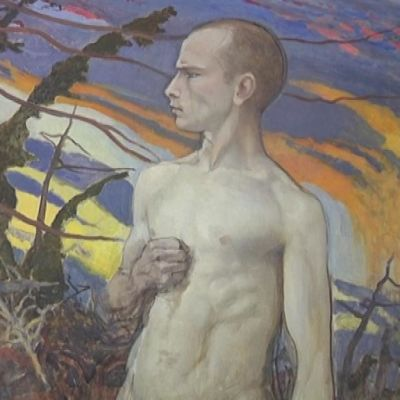 Eero Järnefeltin teos Idän myrsky.