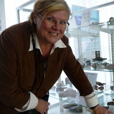 Paleontologi Anneli Uutela.
