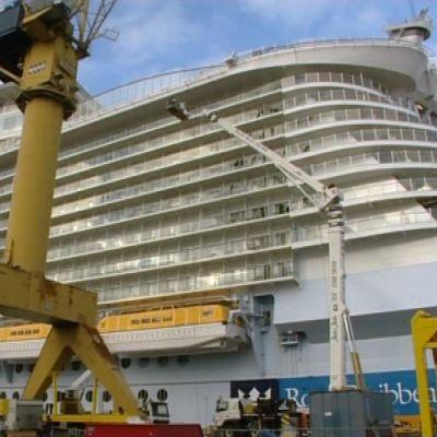 Allure of the Seas luovutetaan loppuviikosta tilaajalleen.