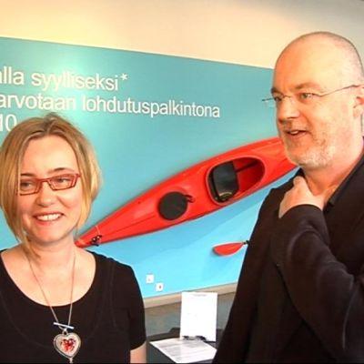 Marjukka Korhonen ja Raimo Uunila.