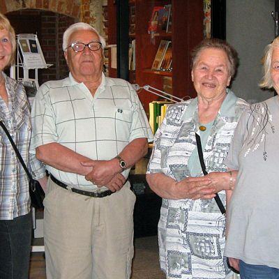 Seija Matsson (vas.), Hannu Filppu, Kaarina Laakso ja Eine Kivi.
