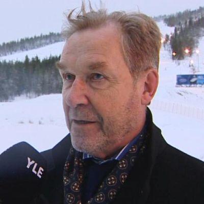 Kemijärven kaupunginjohtaja Arto Ojala Suomulla