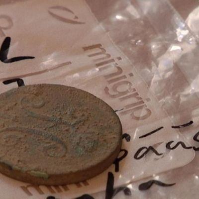 Kasarmien muutostöissä on löytynyt mm. venäläinen kopeeka vuodelta 1835.