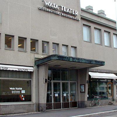 Ulkokuva Wasa Teaterin talosta.
