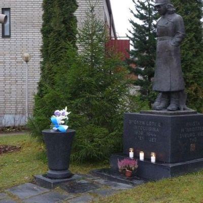 Lottapatsas sijaitsee Lappeenrannassa Kirkkokatu 6:n puistikossa