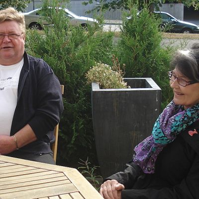 Liisa Lajunen ja Erkki Saarimäki