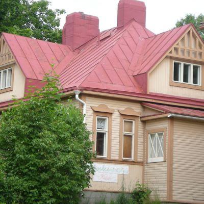 Villa Sarkia on toiminut myös päiväkotina.