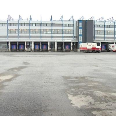 Atrian Nurmon logistiikkakeskus.