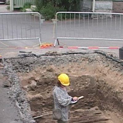Arkeologinen kaivaus