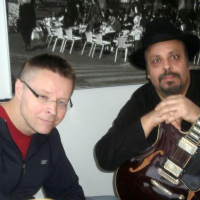 Ilman kitaraa me emme ole mitään, opetti Otis Grand Ari Kankareelle