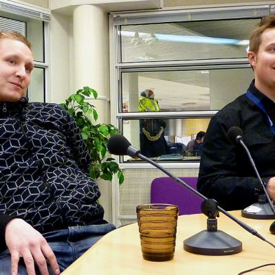 Tommi Mujunen ja Panu Kärri.