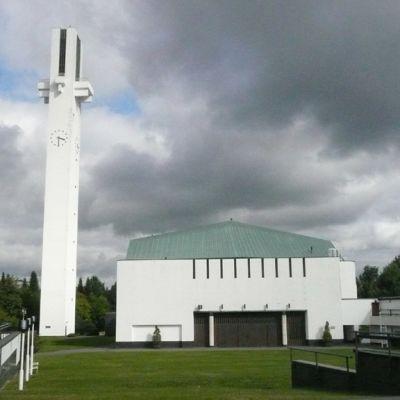 Seinäjoen Lakeuden Risti -kirkko täyttää ensi vuonna 50 vuotta.