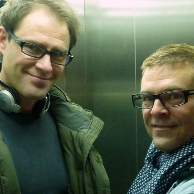 Jussi Rainio ja Ressu Redford.