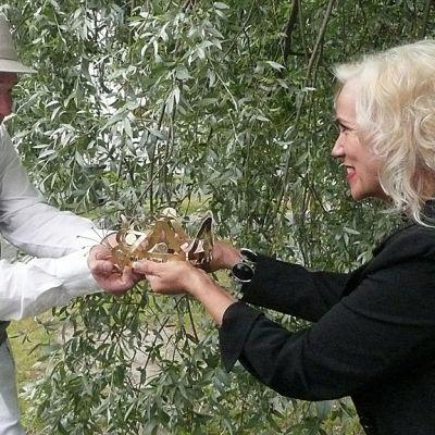 Marko Maunuksela ja Kaija Lustila