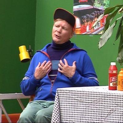 Näyttelijä Harri Hiltunen.