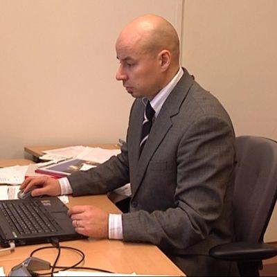 Simo Oksanen aloitti työturvallisuuspäällikön tehtävät vuoden vaihteessa.