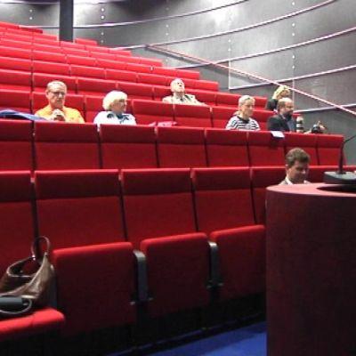 Eurooppavaali-tilaisuus Hämeen ammattikorkeakoulun auditoriossa