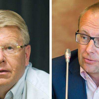 Jyri Häkämies ja Jarkko Eloranta
