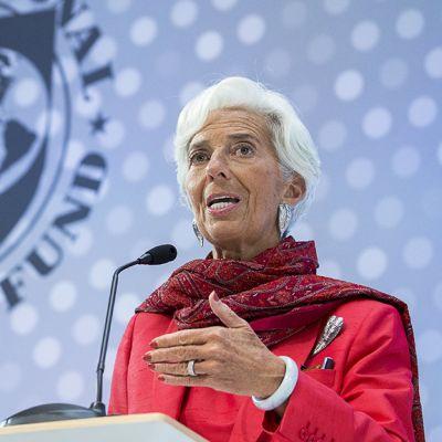 Kansainvälisen valuuttarahaston IMF:n johtaja Christine Lagarde.