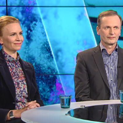 Kaari Mattila ja Kimmo Nuotio.