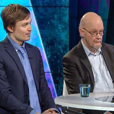 Mikko Annala ja Osmo Soininvaara