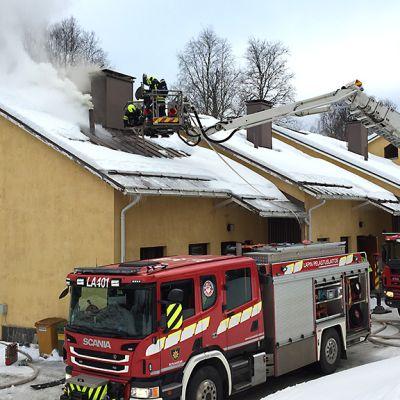 Entinen maaherran talo palaa Rovaniemellä