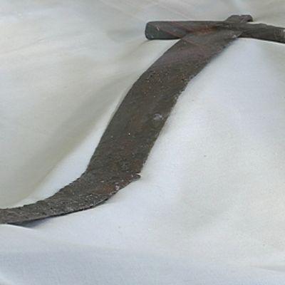 Asikkalan muinainen miekka Lahden historiallinen museossa