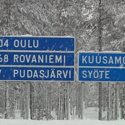Pohjois-Pohjanmaa on pitkien etäisyyksien maakunta.