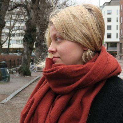 Leena Tirronen Kotkassa.