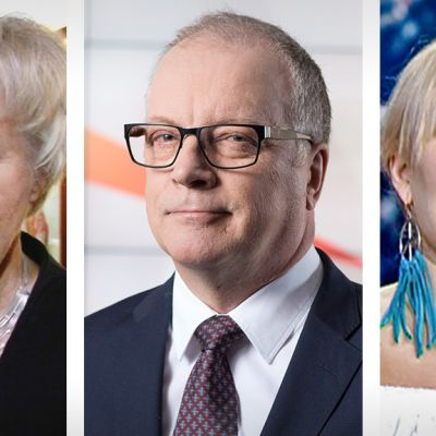 Elisabeth Rehn Matti Rönkä Anna Puu