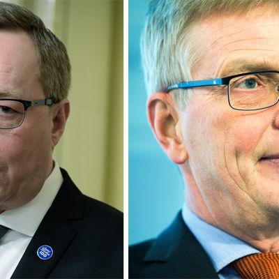 Mika Lintilä ja Eero Heliövaara.