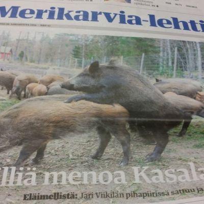 Merikarvia-lehti paikallislehti sanomalehti