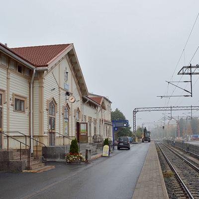 Oulun rautatieasema